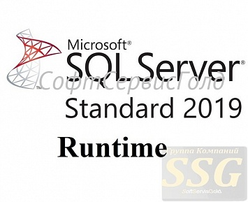 Лицензия на сервер MS SQL Server Standard 2019 Runtime